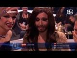 Кончита Вурст в момент голосования на Евровидение 2014 + гоблинская озвучка!