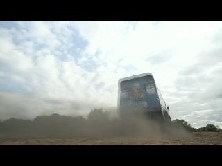 "83. �������� ����� ""���� �������"" Backflip over Red Bull KAMAZ truck in Russia"